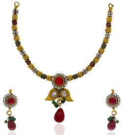 Anuradha Art Metal Jewel Set
