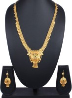 Traditsiya Traditional Stones Alloy Jewel Set Gold