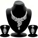 Sukkhi Zinc Jewel Set - Silver - JWSDVC2HYYHFNYHY