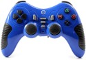 Jite CX-506 2.4G Wireless USB PC Controller Game Pad Dual Shock  Joystick (Blue, For PS3, PS2, PC)