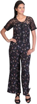 Coolquotient.In Printed Women's Jumpsuit - JUME25NEDE2QQBZR