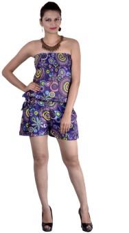 Indi Bargain Geometric Print Women's Jumpsuit - JUME5N98TYVYKGJF