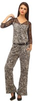 Cottinfab Animal Print Women's Jumpsuit - JUMEYX9VN9TXDPVB