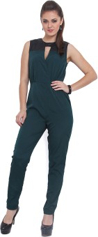 Pera Doce Solid Women's Jumpsuit