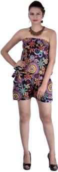 Indi Bargain Geometric Print Women's Jumpsuit - JUME5N98ADNXRMCG