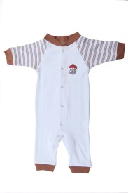 Earth Conscious Solid Boy's Jumpsuit