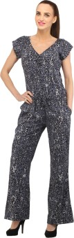 Cottinfab Animal Print Women's Jumpsuit - JUME344HBUA3VJ5K