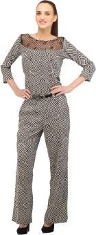 Cottinfab Striped Women's Jumpsuit