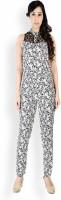 Cottinfab Floral Print Women's Jumpsuit - JUMDWSBXEVSU6X5H