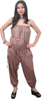 Indiatrendzs Solid Women's Jumpsuit
