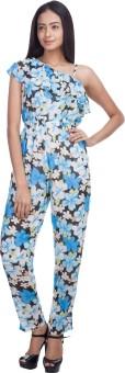 Trendbae Floral Print Women's Jumpsuit