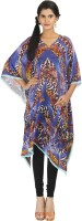 Karmik Self Design Silk Satin Women's Kaftan - KAFEFYY4AKKGZDNH