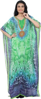 Roopali Creations Printed Georgette Digital Print Women's Kaftan - KAFE6Q95YBVEBN4K