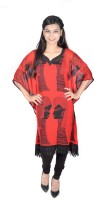 Vivaa Printed Georgette Women's Kaftan - KAFDZS2SG5SQ4NWK