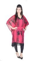 Vivaa Printed Georgette Women's Kaftan - KAFDZS2SDM5TNPZY