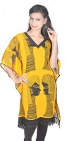 Vivaa Printed Georgette Women's Kaftan - KAFDZS2SJVDBTWUG