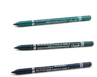 Bonjour Paris Single Apply 1507201623 Glazed Green-Green-Navy Blue Kajal 3.6 G (Glazed Green, Green, Navy Blue)