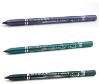 Bonjour Paris Single Apply 1507201610 Cool Purple-Glazed Green-Green Kajal 3.6 G (Cool Purple, Glazed Green, Green)