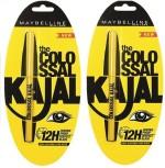 Maybelline Kajal Maybelline Colossal black kajal 0.70 g