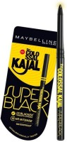 Maybelline Colossal Super Black Kajal Pack Of 2 0.35 G (black)