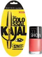 Maybelline The Colossal Kajal - 1 With Offer 0.35 G (Black)