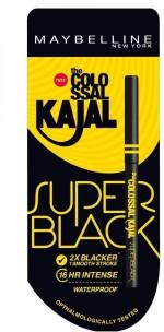 Maybelline Kajal Maybelline Super Black 0.35 g