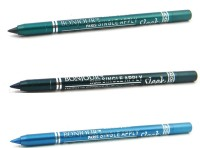 Bonjour Paris Single Apply 1507201627 Glazed Green-Green-Sky Blue Kajal 3.6 G (Glazed Green, Green, Sky Blue)