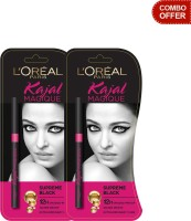 Loreal Paris Kajal Magique - Pack Of 2 0.35 G (Black)