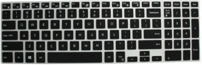 Vrajesh VKS 15R Dell Vostro 15 3558 15.6-inch Laptop Keyboard Skin (Black)
