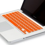 Heartly Keyboardskin03 Orange