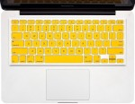 Heartly Keyboardskin03 Yellow