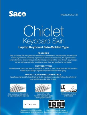 Saco-Chiclet-for-Lenovo-G50-80-Notebook-(80E501LRIN)-Laptop-Keyboard-Skin