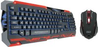 Dragon War X Q2 Gaming Keyboard And Mouse Combo Keyboard (Red & Black)
