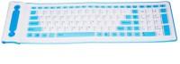 Shrih SKU SH-0051 Wired USB Flexible Keyboard (White)