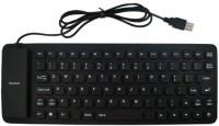 Finger's Ultra Sim Wired USB Flexible Keyboard (Black)