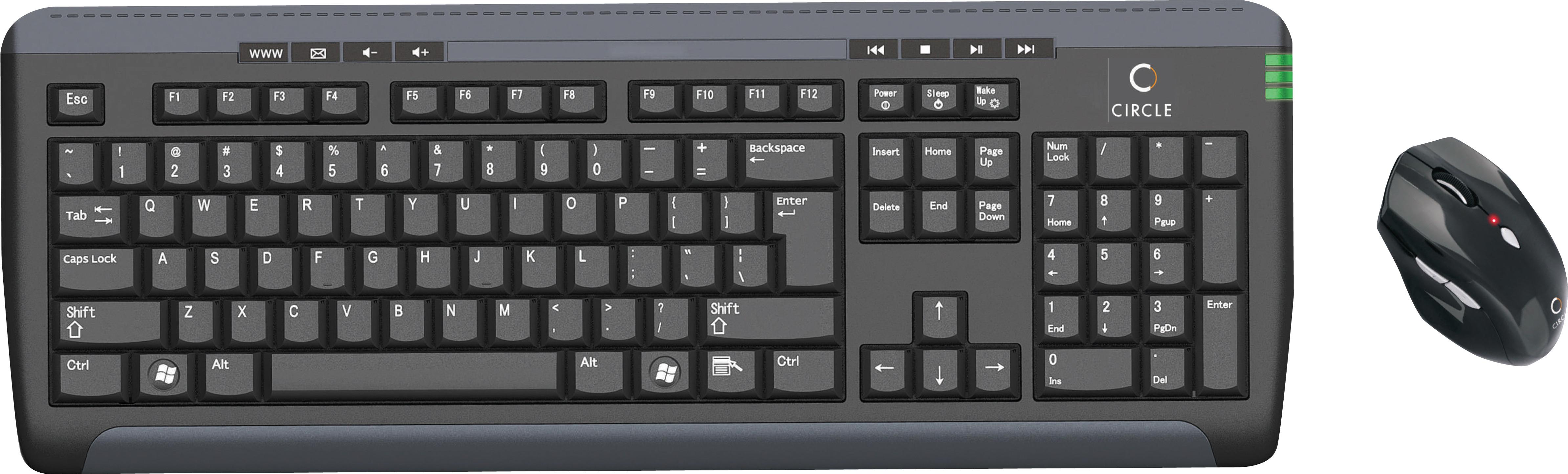 Circle Wireless Mouse Circle a5 Wireless Keyboard