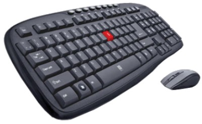 iball feather touch wireless keyboard and mouse combo iball
