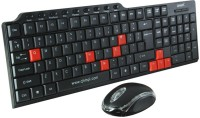 Tele Queen QHM8810 Wired USB Keyboard & Mouse Combo (Black)
