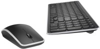 Dell 5HT18 Wireless Keyboard & Mouse Combo (Black, Silver Border)