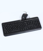 Evis Jugaljodi USB Keyboard & Mouse Combo (Black)