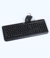 Evis Jugaljodi USB Keyboard & Mouse Combo (Black)