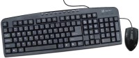 Mercury KT-5320M Wired USB Keyboard & Mouse Combo (Black)