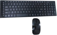 Devizer DKC141w Wireless Keyboard & Mouse Combo (Black, Black)