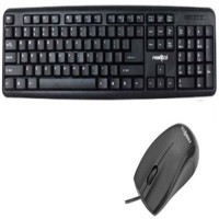 Frontech JIL 1672/JIL 3760 Wired USB Keyboard & Mouse Combo (Black)
