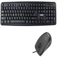 Frontech JIL 1672/JIL 3760 Wired USB Keyboard & Mouse Combo (Black)
