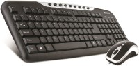 Intex DUO 313 Wired USB Laptop Keyboard (Black + Silver)