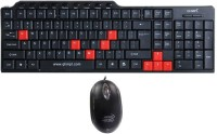 QHMPL 8810 Wired USB Keyboard & Mouse Combo (Black)