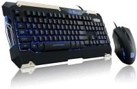 TT Esports Commander Gaming Gear With Mouse Wired USB Keyboard & Mouse Combo (Black)