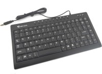 Technotech Mini Wired USB Laptop Keyboard (Black)
