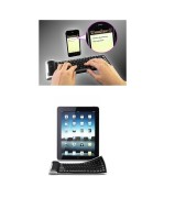 RoQ Flexi Bluetooth Tablet Keyboard (Black)